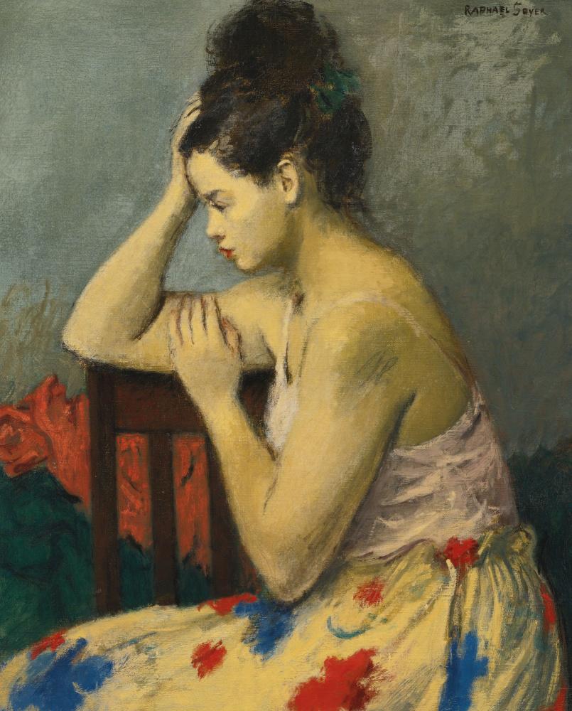 Рафаэль Сойер. Юбка с цветочным узором