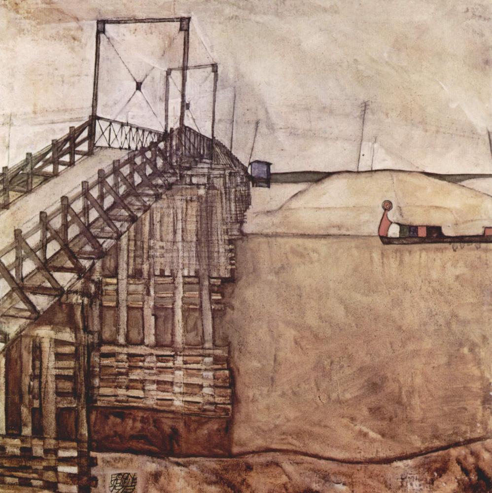 Egon Schiele. Bridge