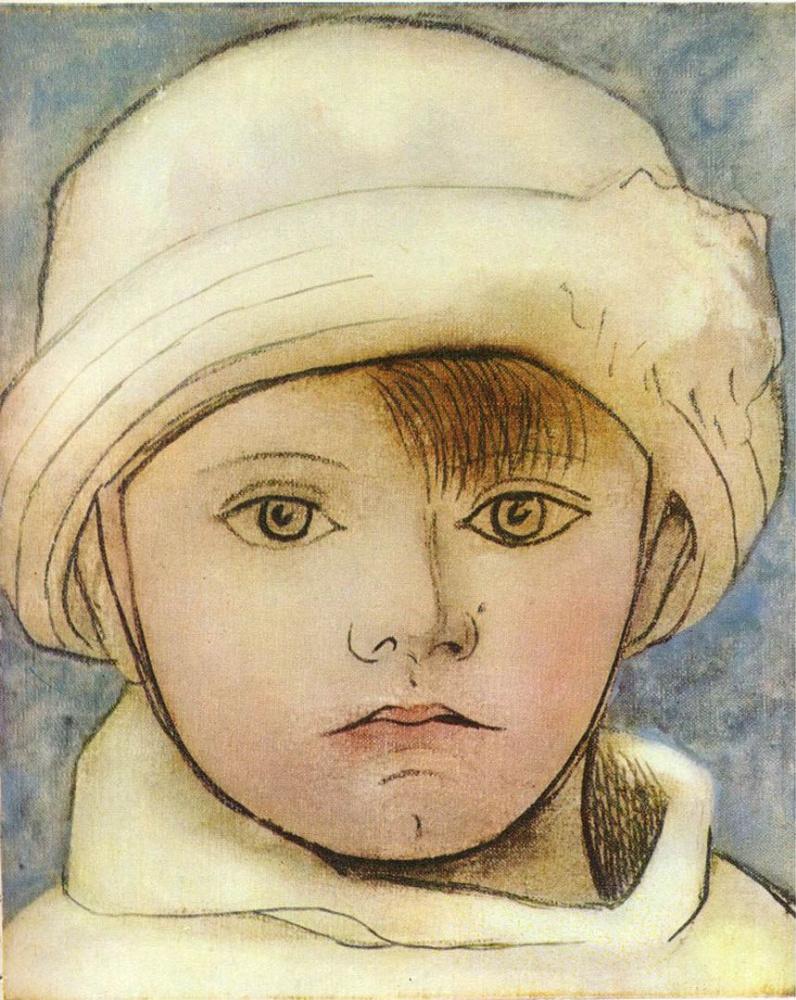 Пабло Пикассо. Портрет Пауло, сына художника