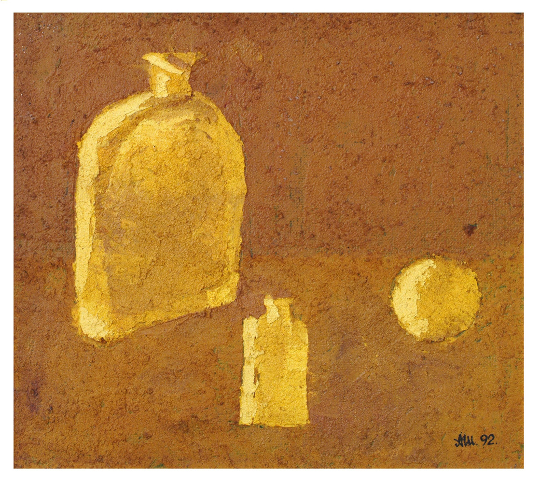 Alexander Shavrin. Yellow still life