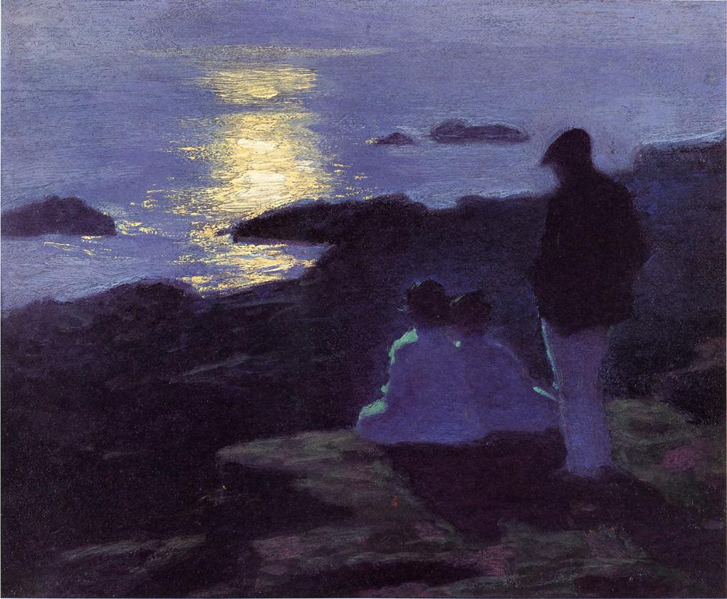 Edward Henry Pottast. Summer night