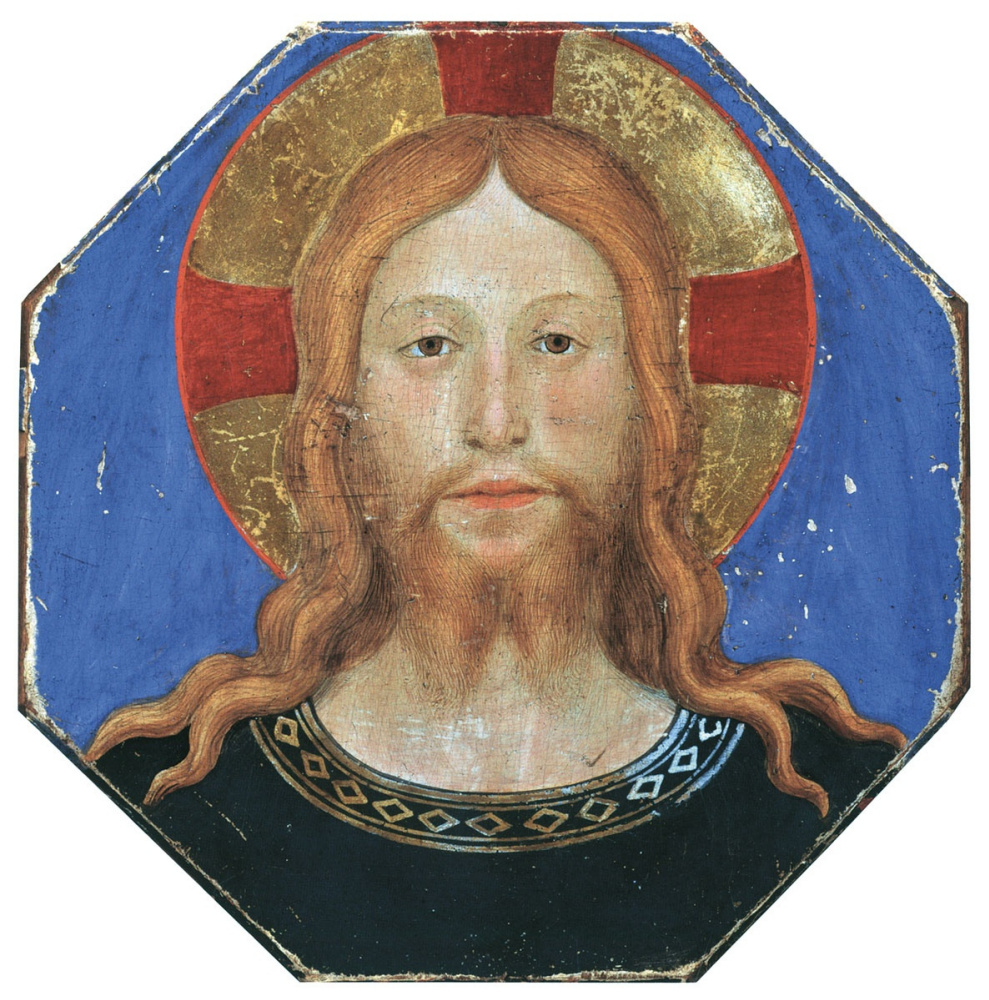 Fra Beato Angelico. The face of Christ. Around 1435–1437