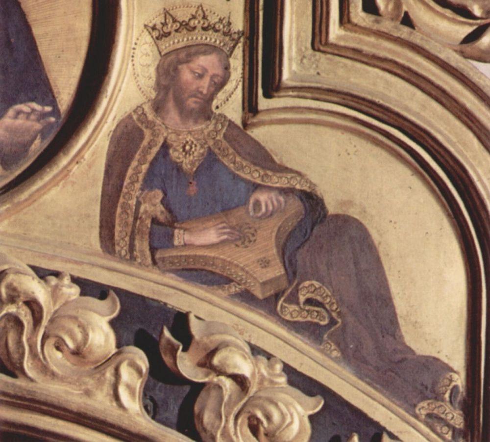 Джентиле да Фабриано. Пророк Давид