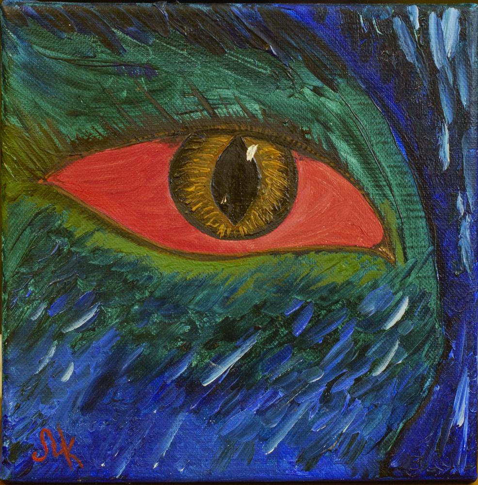 Maria Kozlovskaya. Eye
