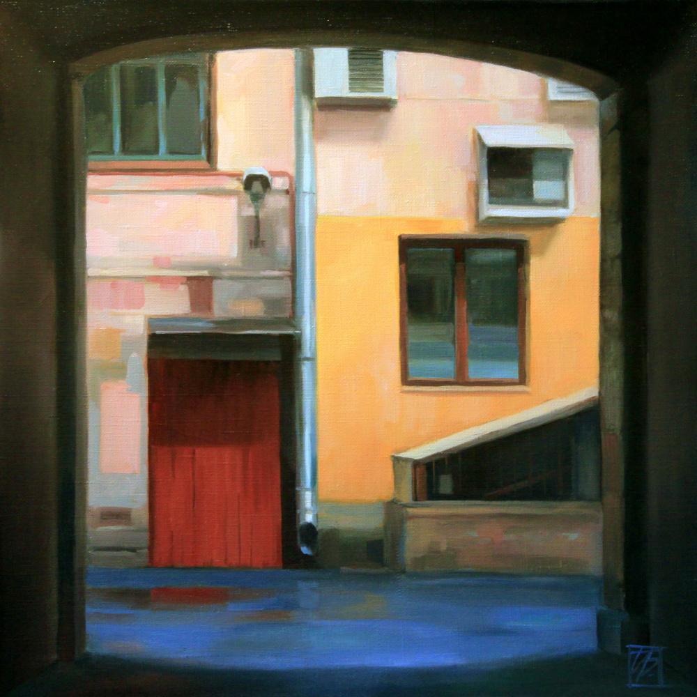 "Irina Bogdanova. Gateway 1. From the series ""Portals"""