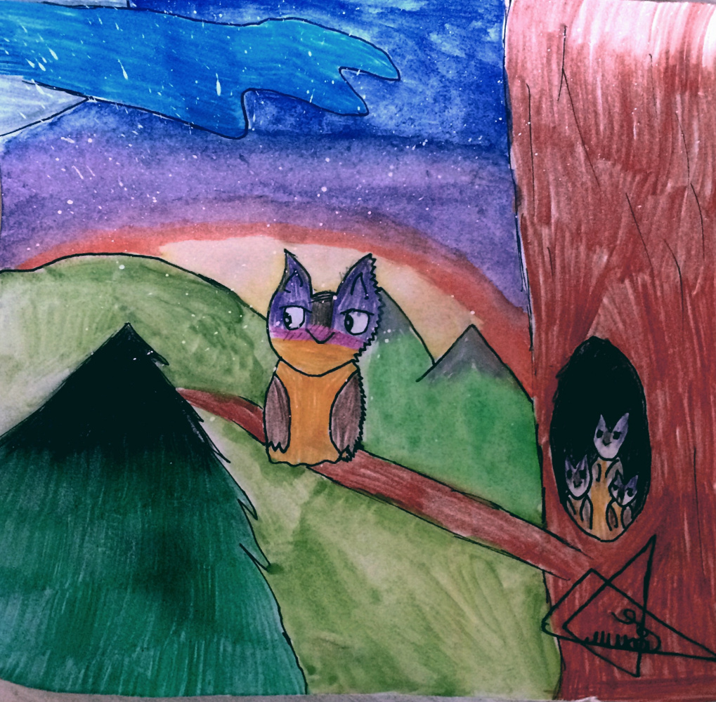 Tanya Trukhaleva. Owls 🦉