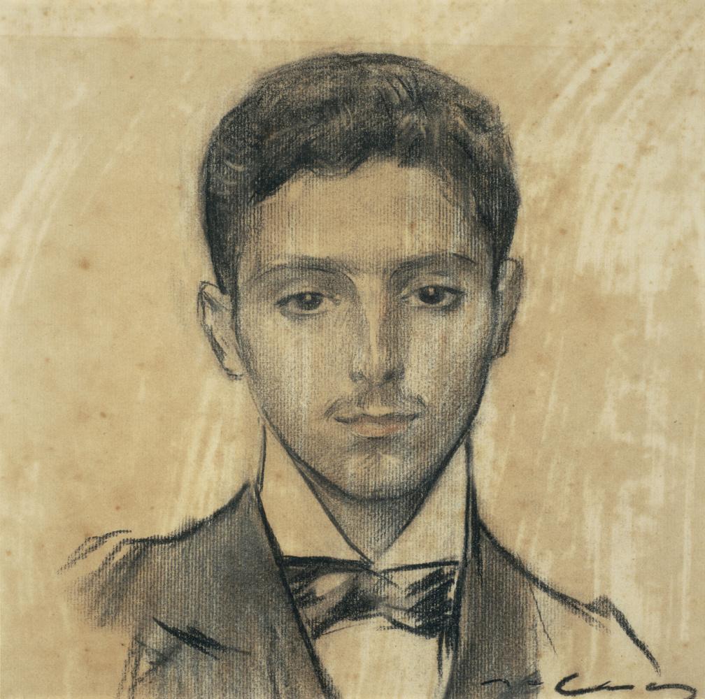 Рамон Касас Карбо. Портрет Хосепа Пиджоана
