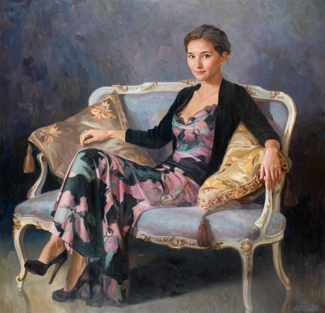 Pavel Gennadievich Dragunov. Portrait of Sophia