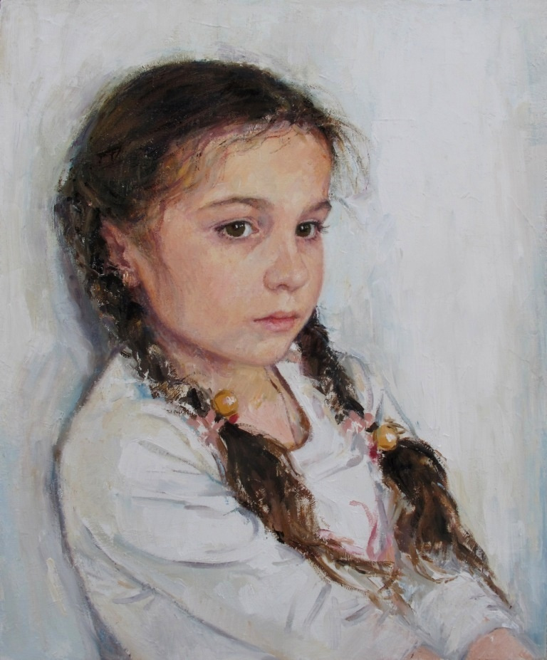 "Natalia Alexandrovna Karpukhin. ""Portrait Of Jaroslava High"""