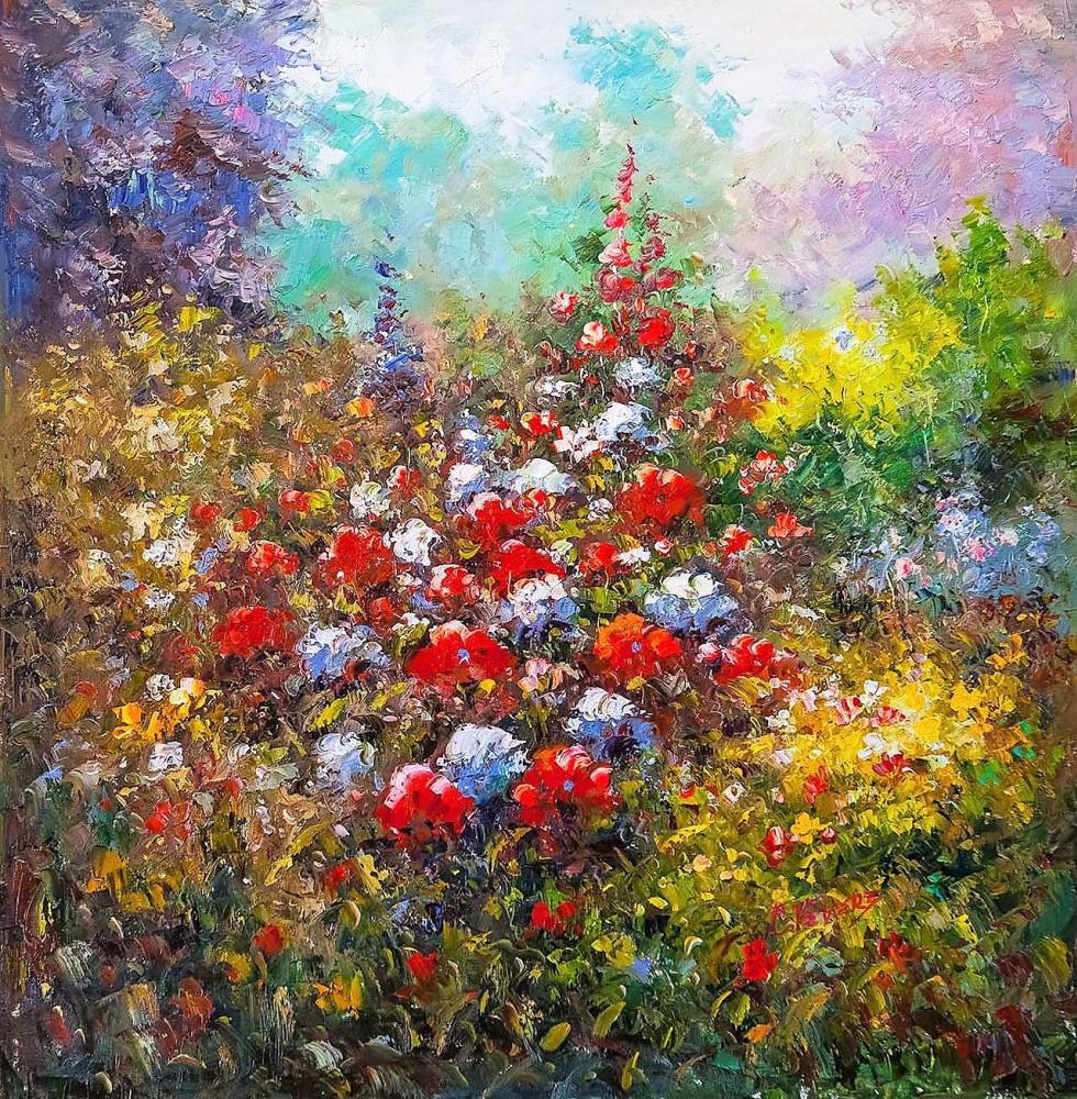 (no name). Blooming garden N3
