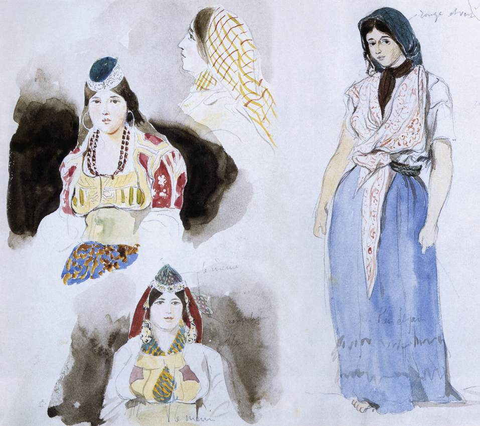 Эжен Делакруа. Марокканские женщины