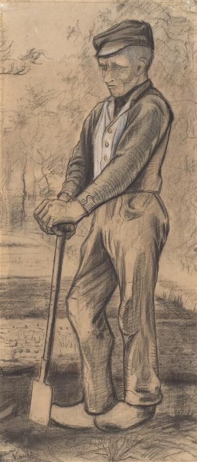 Винсент Ван Гог. Отдыхающий копатель