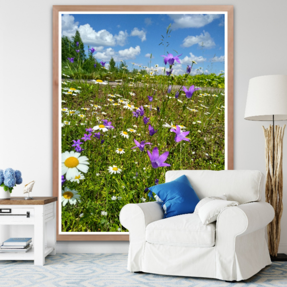 Natalya Garber. Rest in the fields. Photoart for a recreation area and pure thoughts