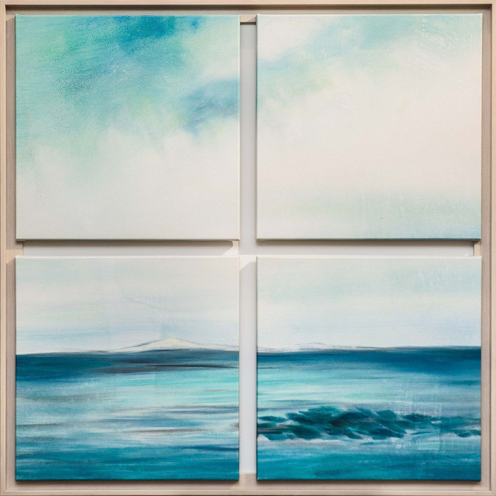 Brian dupre. In the blue and distant ocean Polyptych