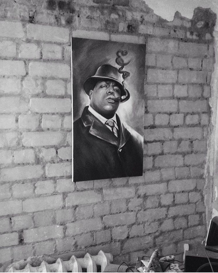 Анастасия Ораина. Notorious big Portrait to order