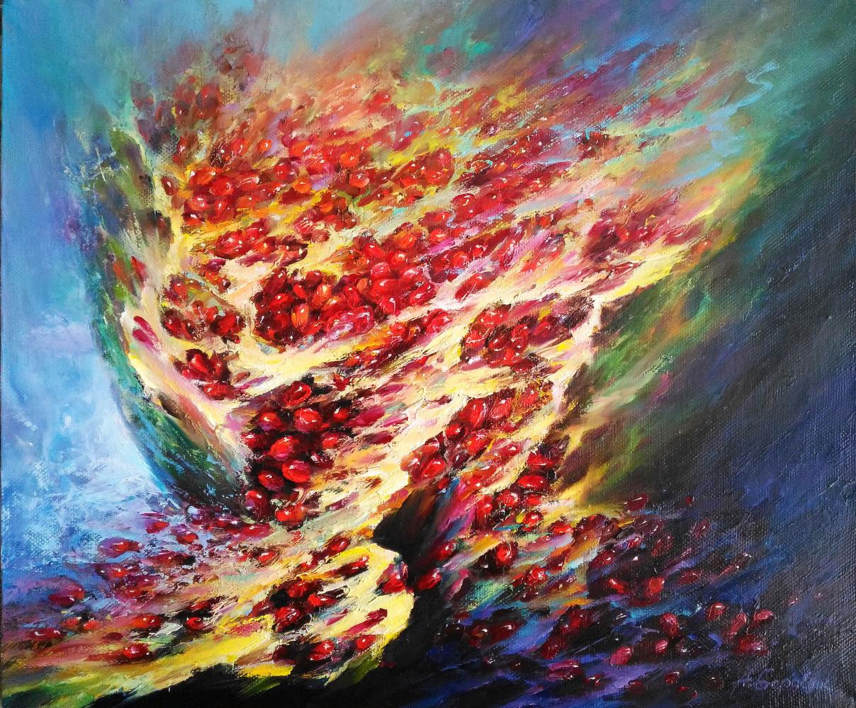 Andrei Ivanovich Boravik. The taste of pomegranate