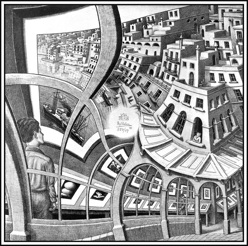 Мауриц Корнелис Эшер. Картинная галерея