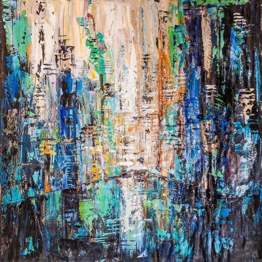 Jose Rodriguez. Symphony of the evening city