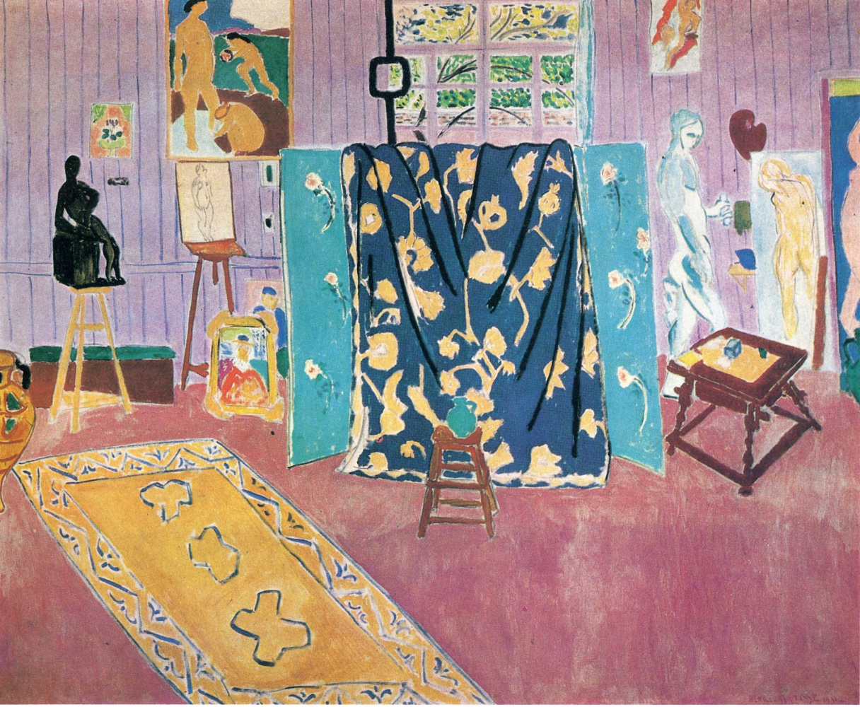 Henri Matisse. The Pink Studio