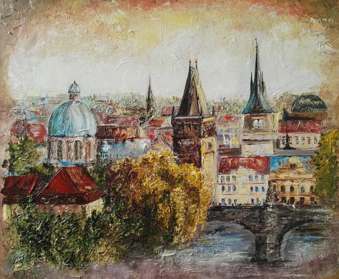 Алина Евгеньевна Галкина. Прага