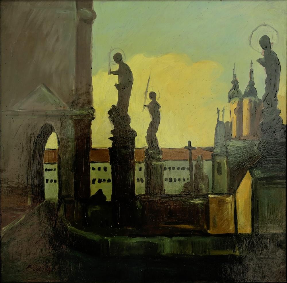 Adalbert Mikhailovich Erdeli. Prague