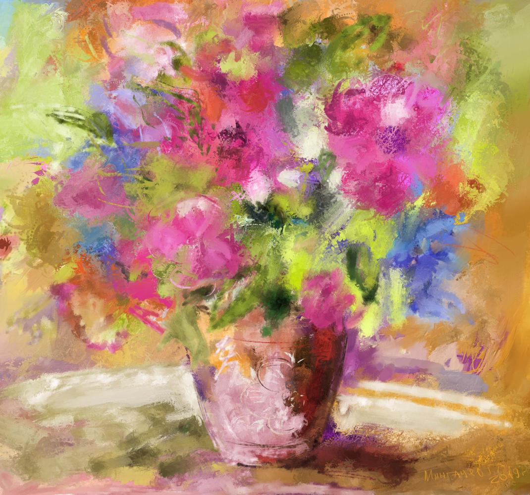 Galiyar Mingachev. Summer bouquet