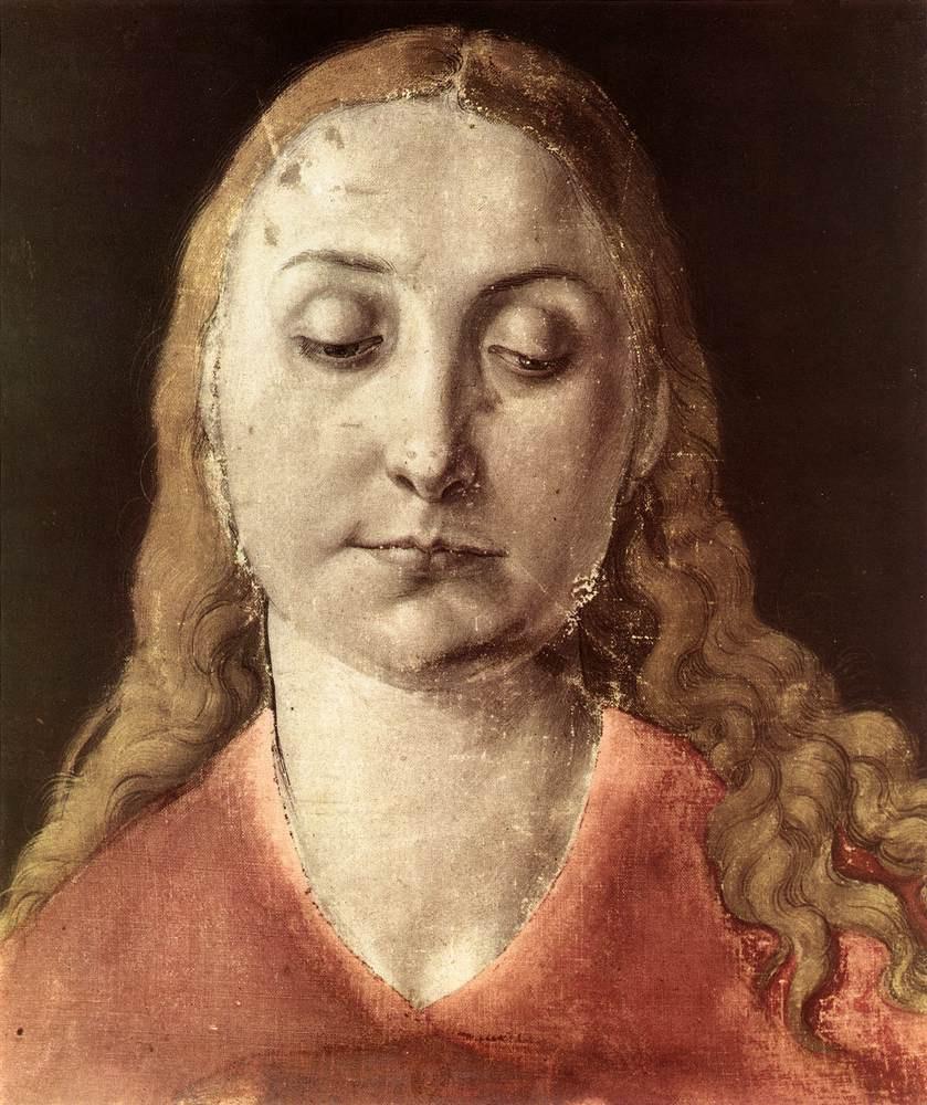 Albrecht Dürer. Portrait Of Maria