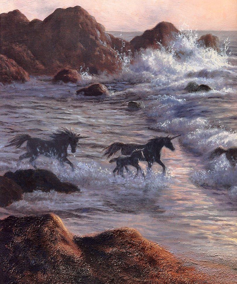 Рут Сандерсон. Единороги в море