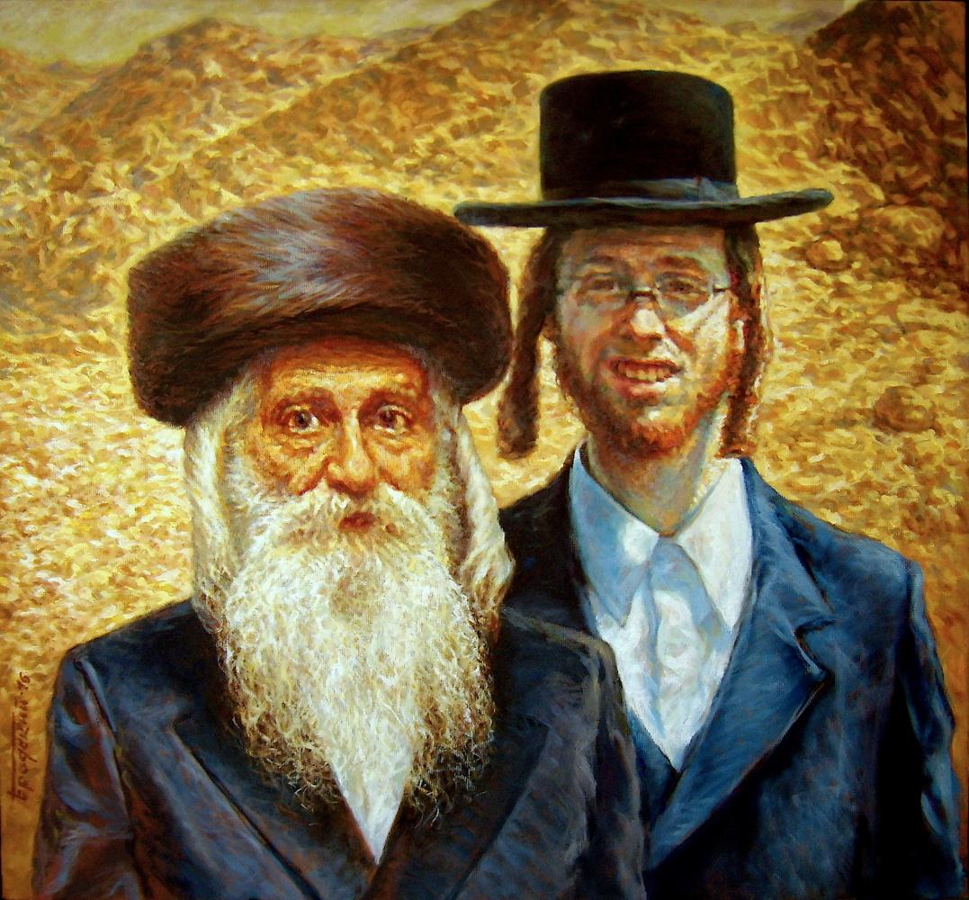 David Shikovich Brodsky. Abraham and his son Isaac