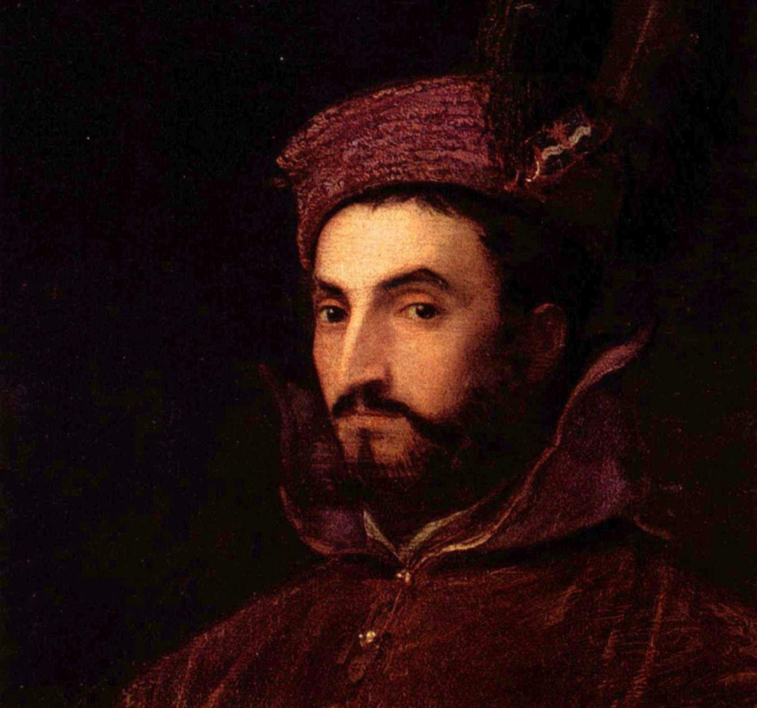 Тициан Вечеллио. Портрет Иопполито де Медичи