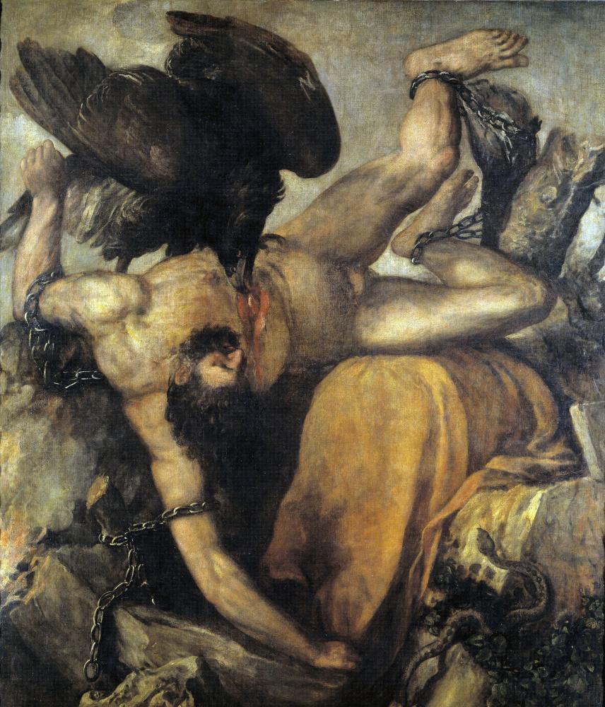 Тициан Вечеллио. Титий