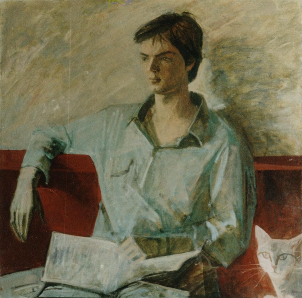 Лариса Васильевна Копылова. Portrait of the son