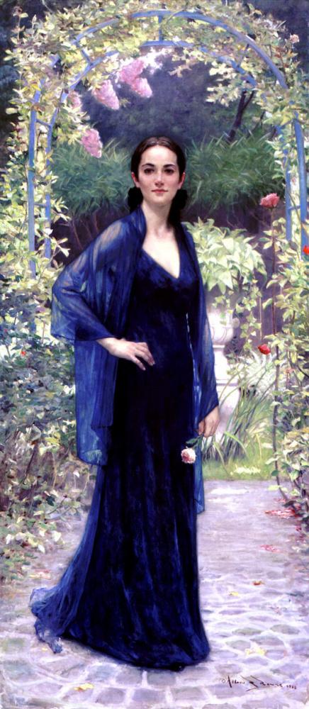 Дженнифер в саду