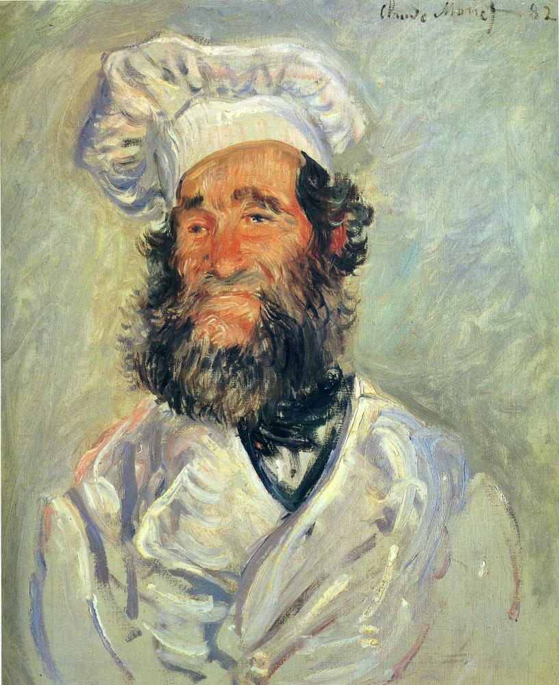 Клод Моне. Портрет Папаши Поля