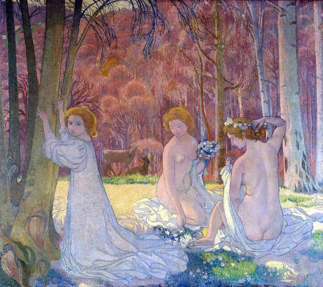 Maurice Denis. Sacred grove