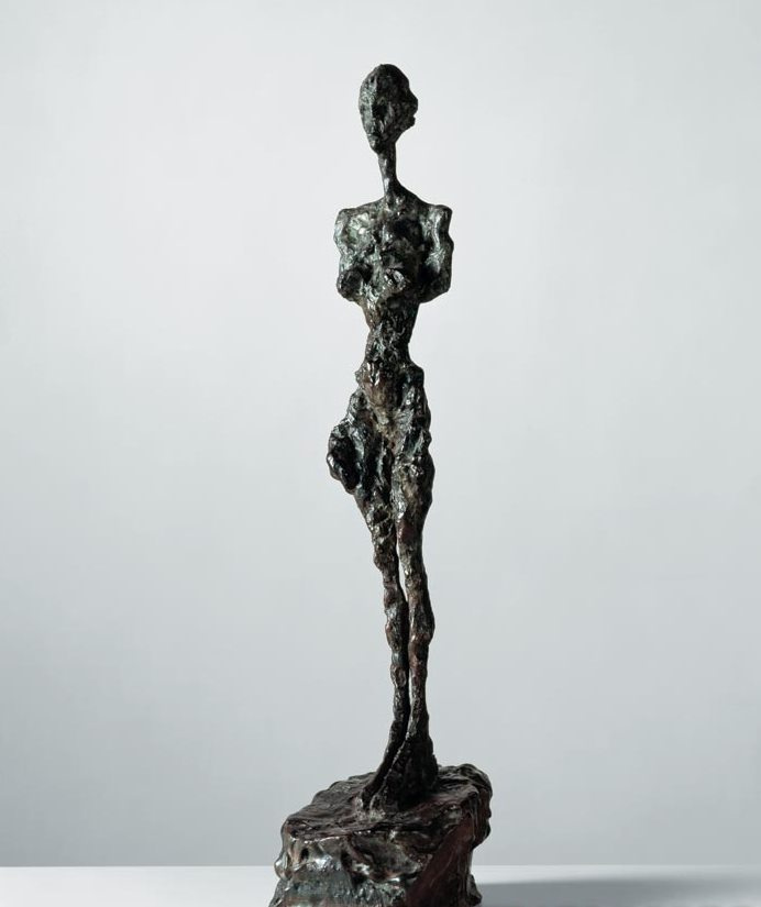 Alberto Giacometti. Standing Nude with no arms