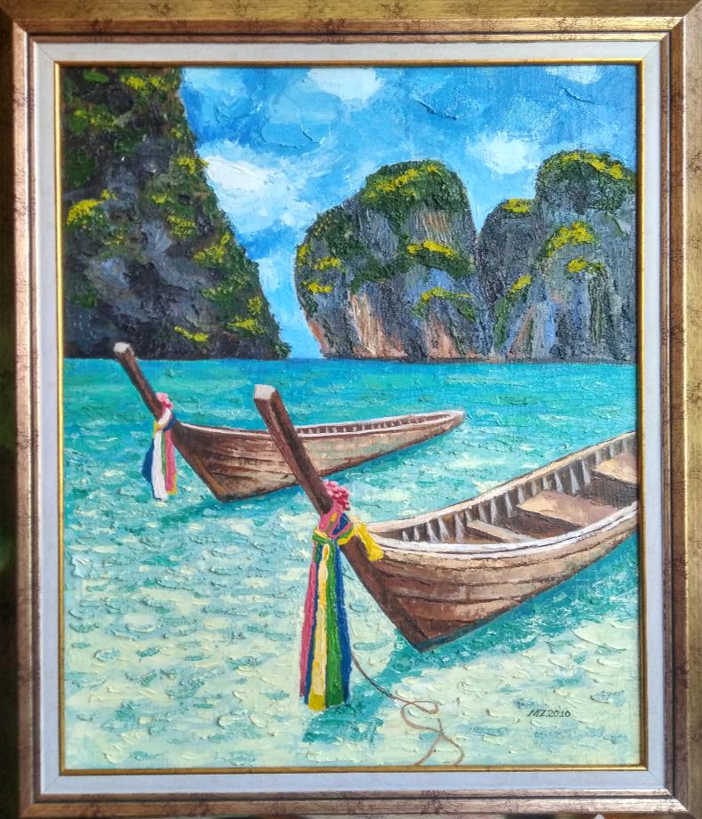 Maria Zakaryan. Tailand