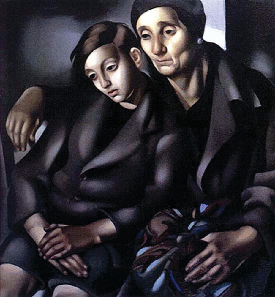 Тамара Лемпицка. Беженцы
