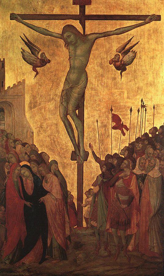 Уголино Лоренцетти. Распятие Христа