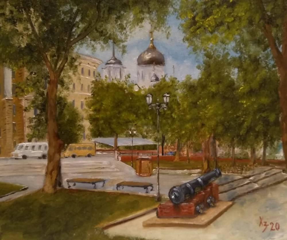 Sergei Nikolayevich Khodorenko-Zatonsky. Blagoveshchensky cathedral