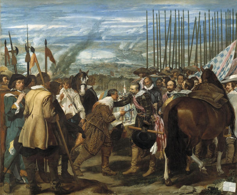 Diego Velazquez. The Surrender of Breda
