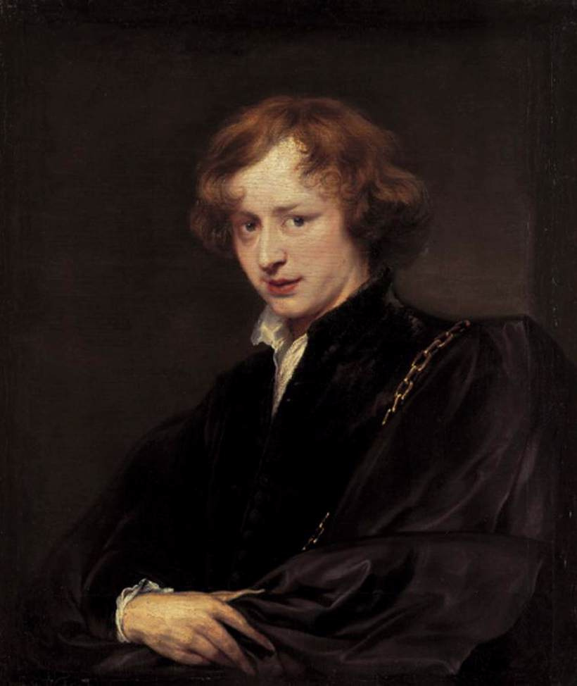 Anthony van Dyck. Self-portrait