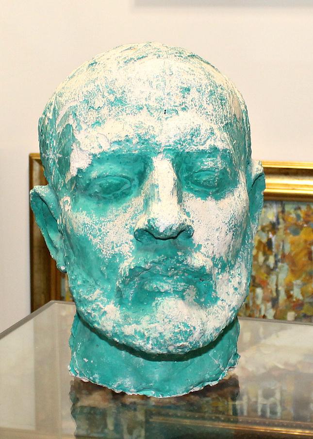 Eugene Maryshev. Sculpture head man
