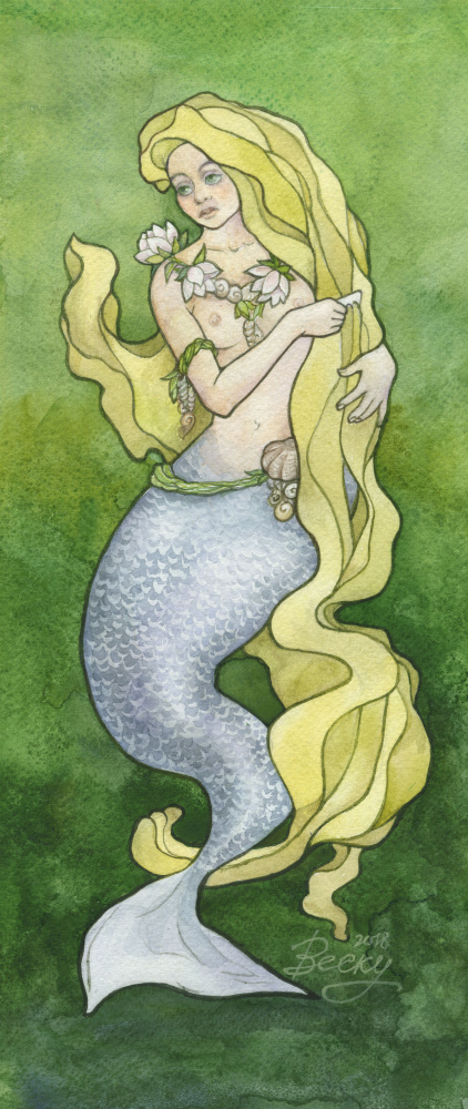 Svetlana Vescu. Mermaid