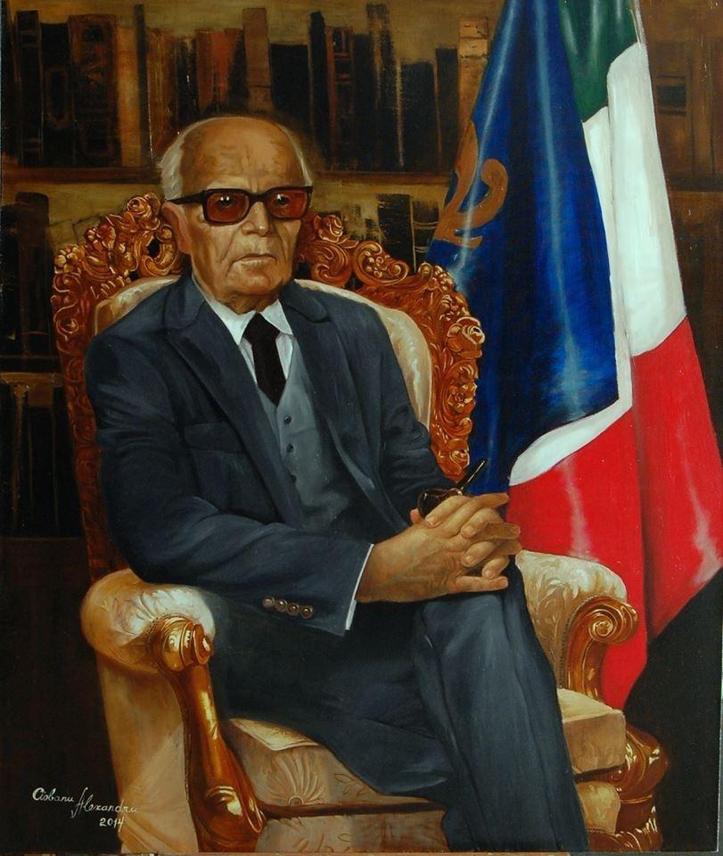 "Alexander Giza-Ciobanu. The Portrait Of ""Alessandro Pertini"""