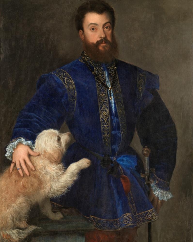 Titian Vecelli. Portrait of Federico II Gonzaga, Duke of Mantua