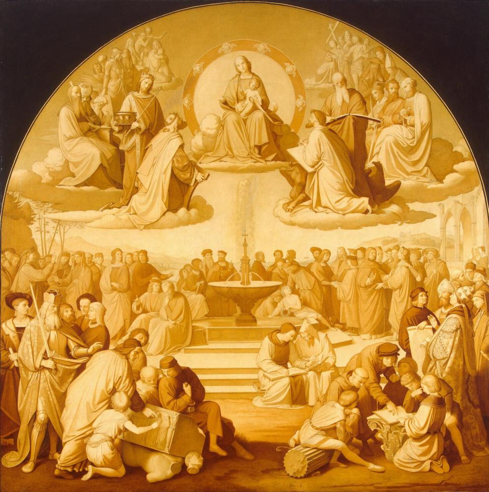 Иоганн Фридрих Овербек. Триумф религии в искусстве
