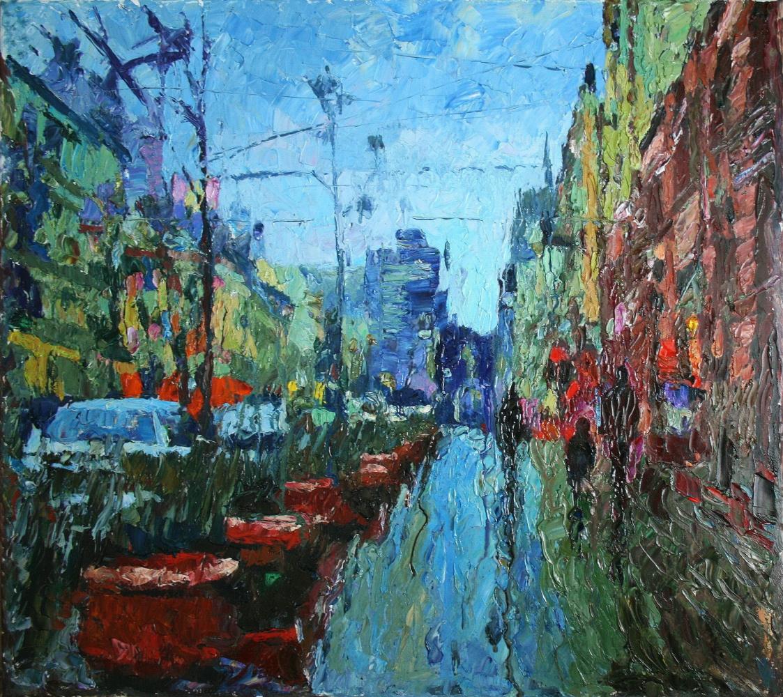 Mikhail Rudnik. Rain