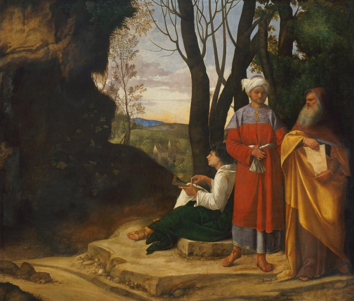 Giorgione. Three philosophers