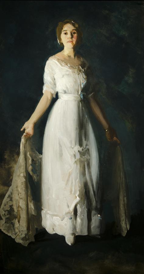 George Wesley Bellows. Mrs. albert Miller